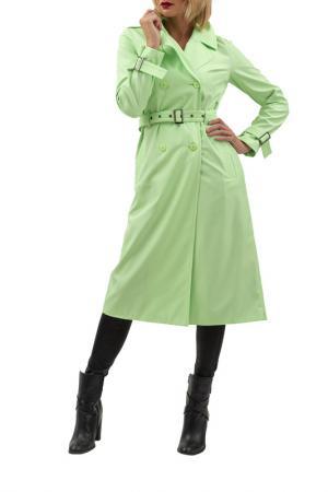 Тренч DOCTOR E. Цвет: светло-зеленый