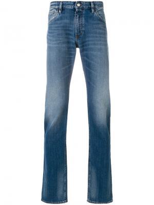Расклешенные джинсы Emporio Armani. Цвет: синий