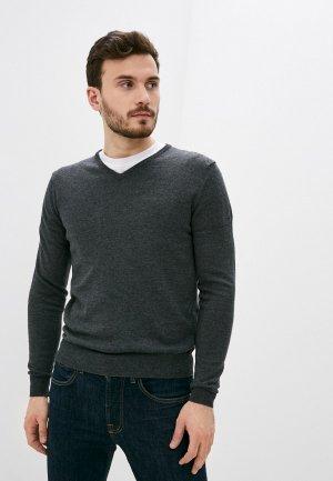 Пуловер Baldinini. Цвет: серый