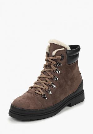 Ботинки Bona Dea. Цвет: коричневый