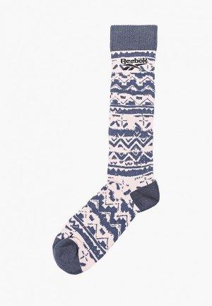 Носки Reebok Classic. Цвет: синий