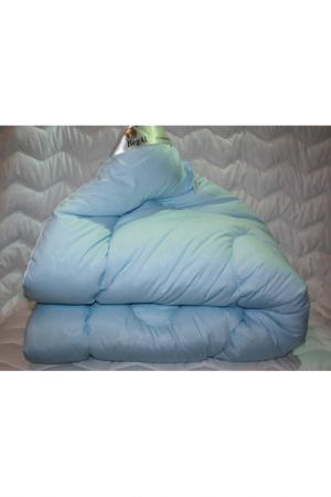 Одеяло зимнее 200х220 см BegAl. Цвет: голубой