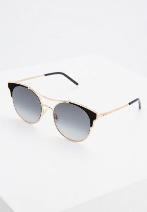 Очки солнцезащитные Jimmy Choo. Цвет: золотой