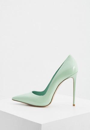 Туфли Le Silla. Цвет: зеленый