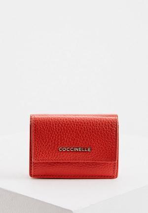 Кошелек Coccinelle. Цвет: красный