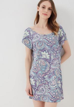 Платье домашнее Sela. Цвет: разноцветный