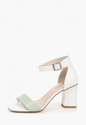 Босоножки Just Couture. Цвет: зеленый