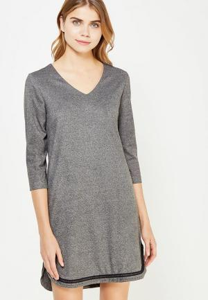 Платье 9fashion Woman. Цвет: серый