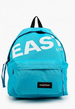 Рюкзак Eastpak. Цвет: голубой
