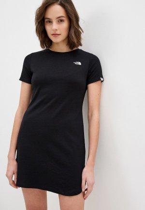 Платье The North Face. Цвет: черный