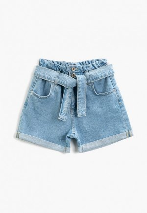 Шорты джинсовые Koton. Цвет: голубой