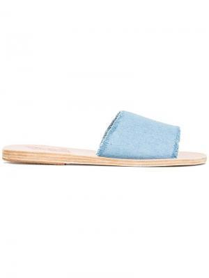 Сандалии Taygete Ancient Greek Sandals. Цвет: синий