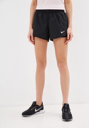 Шорты спортивные Nike. Цвет: черный