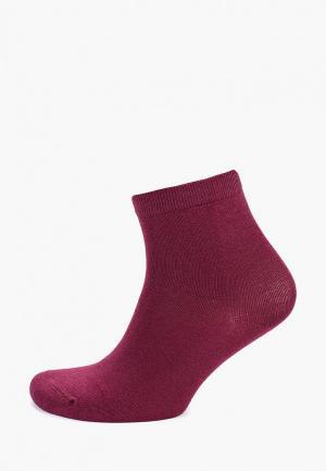 Носки Befree. Цвет: бордовый