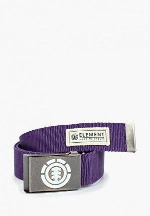 Ремень Element. Цвет: фиолетовый