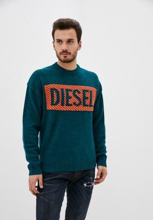 Джемпер Diesel. Цвет: зеленый