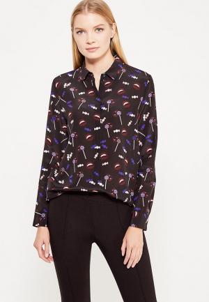 Блуза Hugo. Цвет: черный