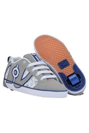 Роликовые кроссовки HEELYS. Цвет: серый