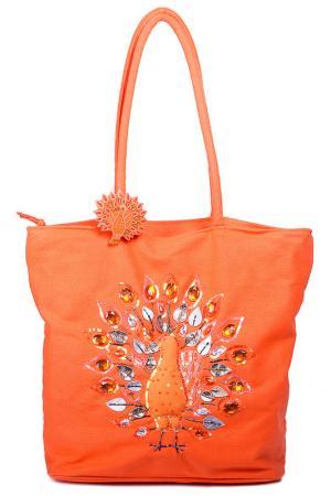 Сумка Bulaggi. Цвет: оранжевый