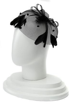 Ободок для волос DIVA. Цвет: черный