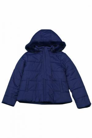 Куртка LAURA BIAGIOTTI DOLLS. Цвет: 901 темно-синий