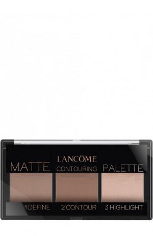 Палетка для контуринга Teint Idole Ultra Palette, оттенок Light Matte Lancome. Цвет: бесцветный