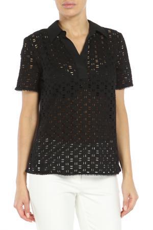 Блуза 22MAGGIO. Цвет: черный
