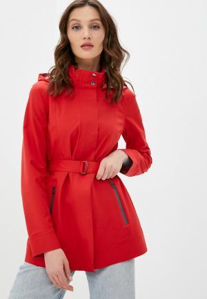 Куртка Geox. Цвет: красный