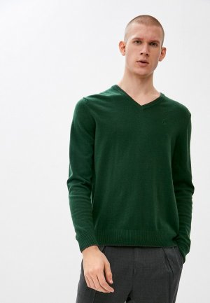 Пуловер Conte Of Florence. Цвет: зеленый