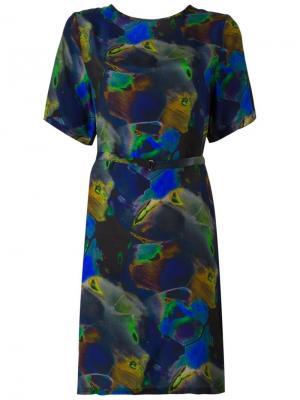 Платье Ebone Minimarket. Цвет: многоцветный