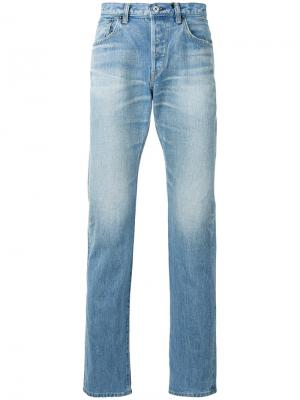 Прямые джинсы Edwin. Цвет: синий