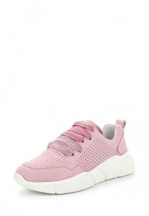 Кроссовки Bronx. Цвет: розовый