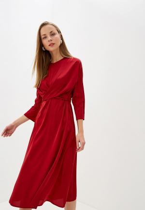 Платье LAutre Chose L'Autre. Цвет: бордовый