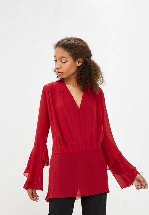 Блуза Met. Цвет: бордовый