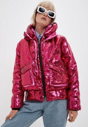 Куртка утепленная Canadian. Цвет: розовый