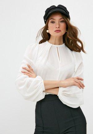 Блуза Elisabetta Franchi. Цвет: белый
