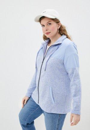 Олимпийка Ulla Popken. Цвет: голубой