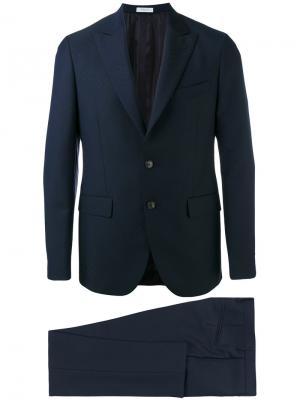 Классический пиджак Boglioli. Цвет: синий