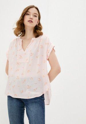 Блуза Gap. Цвет: розовый