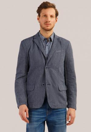 Пиджак Finn Flare. Цвет: синий