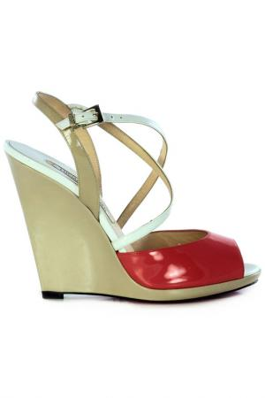 Wedge sandals LUCIANO PADOVAN. Цвет: мультицвет