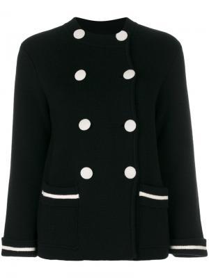 Двубортный пиджак Milano Chinti & Parker. Цвет: чёрный