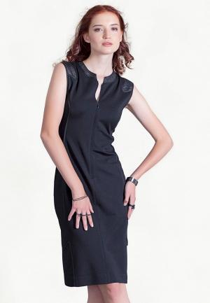 Платье Strygina. Цвет: черный