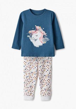Пижама Name It. Цвет: разноцветный