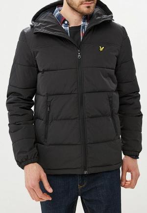 Куртка утепленная Lyle & Scott. Цвет: черный
