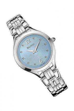Наручные часы Maestria Lady BALMAIN. Цвет: голубой