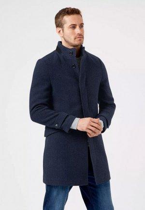 Полупальто Burton Menswear London. Цвет: синий