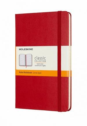 Блокнот Moleskine. Цвет: красный