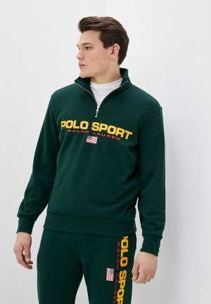 Олимпийка Polo Ralph Lauren. Цвет: зеленый