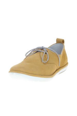 Ботинки FLY LONDON. Цвет: желтый